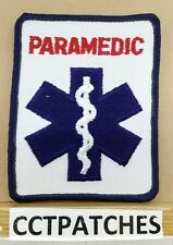 PARAMEDIC STAR OF LIFE EMS EMT PATCH