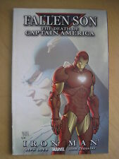 "FALLEN SON:""THE DEATH OF CAPTAIN AMERICA"".IRON MAN.CIVIL WAR ONE-OFF.2007.MARVEL"