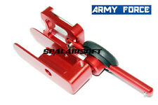 Army Force IPSC Aluminum Holster Without Inner Parts For Hi-Capa GBB (Right,Red)