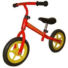 "Push-N-Go Kids Balance Bike - Very Light Weight - 12"" Wheels, Unisex, Red, PNG2"