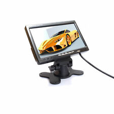 "7"" TFT LCD 800*480 RGB Screen monitor 2 Video Input DVD VCR /STB Car Monitor"