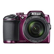 Nikon Coolpix B500 16MP Digital Camera 40x Optical Zoom Purple Full-HD WiFi NFC