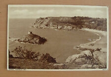 Vintage postcard-Portelet Bay, Jersey, Channel Islands