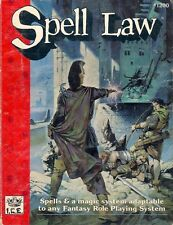 SPELL LAW (1989) shadow world fantasy hero role playing games rpg ad & d ad&d