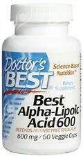 Doctor's Best, Best Alpha-Lipoic Acid - 600mg x60Vcaps