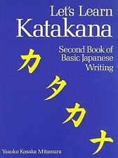 Let's Learn Katakana: Second Book of Basic Japanese Writing-ExLibrary
