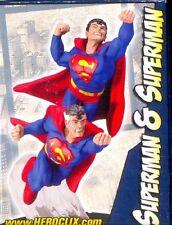 WIZKIDS HEROCLIX PROMOTIONAL FIGURE CONVENTION D-004 SUPERMAN & SUPERMAN
