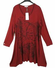 LA MOUETTE TRAUMHAFT Kleid Dress Robe Vestido Tunika Tunic XXL 52 54 Lagenlook