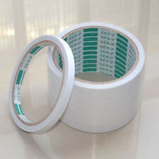 5Rolls White Double Sided Super Strong Adhesive Stationery Tape Sticker Glue Hot