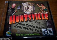 Big Fish Games - MYSTERY CASE FILES - HUNTSVILLE - 2006 - Rated E - EUC!