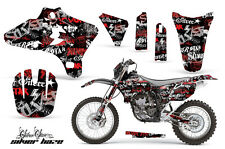 YAMAHA YZF 250/450 Graphic Kit AMR Racing # Plates Decal Sticker Part 03-05 HAZR