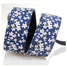 Blue +Flower DSLR Camera Shoulder Strap Neck Belt Hand Grip For Canon Nikon Sony