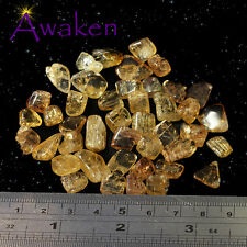 *ONE* YELLOW TOURMALINE TINY 5-10mm Natural Piece *TRUSTED SELLER*