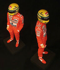 Ayrton Senna 1/12 escala estatuilla Ltd By sean Mills