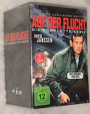 The Fugitive (David Janssen) Complete Series Seasons 1,2,3,4 DVD Box Set SEALED