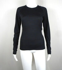 ICEBREAKER ~ Black Bodyfit 150 Women's Merino Wool Base Layer Shirt ~ Small NTSF
