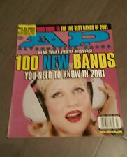 AP ALTERNATIVE PRESS MAGAZINE March 2001 - 100 New Bands of 2001