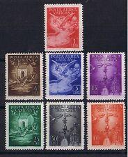 Vatikan **  MiNr 140 - 146 Flugpostmarken Taube Schwalben Engel