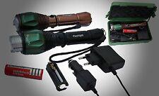 SWAT del CREE LED linterna con 18000 lúmenes extremadamente Hell 5800mah UltraFire CREE XML batería