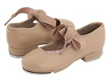 Capezio Tap Shoes Caramel/Tan Childs  Size 11 1/2 M