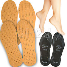 2 PAIRS OF SHOEFRESH SUPER SOFT LEATHER INSOLES FOR MEN AND WOMEN