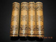 FOUR VOLUME SET OF GOETHE'S WORKS c1910 DR G M PREM, LEIPZIG