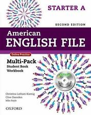 American English File 2E Starter Multi-Pack A: With Online Practice and iChecker