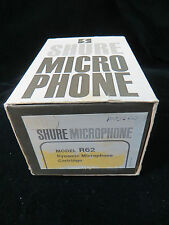 SHURE R62 CARTRIDGE REPLACEMENT FOR SM62 UNIDIRECTIONAL DYNAMIC MICROPHONE
