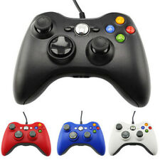 Blue USB Wired Game Pad Controller for Microsoft Xbox 360 PC Windows MY