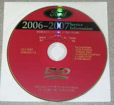 2007 Ford Edge Lincoln MKX Service Repair Manual Set DVD