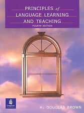 Principles of Language Learning and Teaching by H. Douglas Brown Acquisition 4e