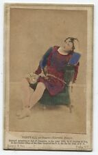 VINTAGE CDV PHOTO OF OPERA CHARACTER  LUCRETIA BORGIA,BY GURNEY 1863.TINTED.