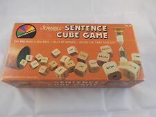 Scrabble Sentence Cube Game by Selchow & Righter #2