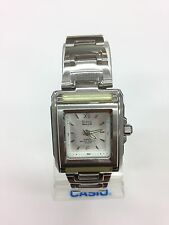 Vintage Casio MSG-700 G-MS Baby G-Shock Women's Watch Silver Stainless Steel