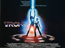 "Tron 1982 16"" x 12"" Reproduction Movie Poster Photograph"