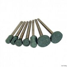 7-PC. Mini Mounted Stones Set Grinds Sands & Shapes Fits Rotary Tools & Dremel™