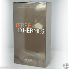 TERRE D'HERMES BY HERMES 6.7 OZ EDT SPRAY MEN COLOGNE NIB SEALED