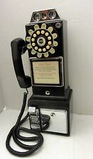 Vtg THOMAS Phone Model 1956 Coin Operated Public Pay Replica with KEY Works!