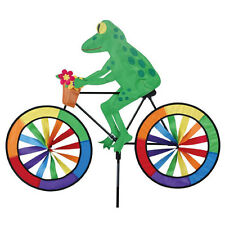 Tree Frog on a Bicycle Wind Spinner PR 25992