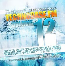CD Techno base. FM 12 di Various Artists 3cds
