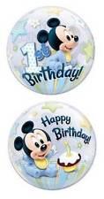 """22"""" Bubble Palloncino """"Mickey Mouse 1st Compleanno"""" Festa Decorazione-elastico"""