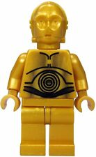 LEGO STAR WARS C-3PO PEARL GOLD 8092 10188 MINIFIG new