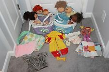 HUGE LOT Vintage Cabbage Patch Dolls, Clothes, Accessories, Sleeper Beds