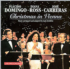 Christmas in Vienna CD 1993 - Placido Domingo, Diana Ross, Jose Carreras PBS NEW