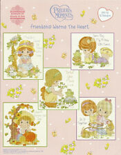 Precious Moments Cross Stitch Pattern Book FRIENDSHIP WARMS THE HEART