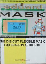 Eduard Máscara de dosel 1/48 EX180 para el Tamiya Dewoitine D-520 Kit