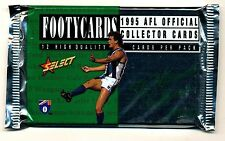 1995 Select Series 2 unopened packet of football cards