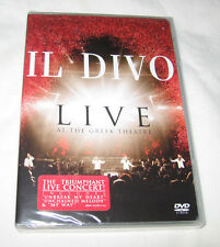 Il Divo - Live at the Greek DVD 2006 Classical Pop Music, Free Shipping U.S.A.