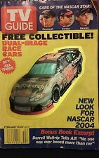 TV Guide February 14 2004 NASCAR Goodwrench Harvick Dual image collectible