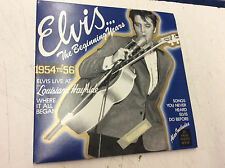 Elvis Presley - The Beginning Years W/ Book! Tested! Works!